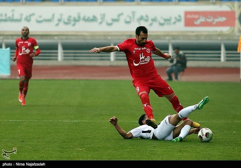 لیگ برتر فوتبال، پیروزی یک نیمه ای پدیده مقابل ماشین سازی